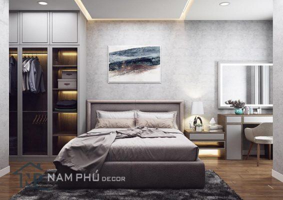 Thiết kế thi công nội thất căn hộ chung cư phong cách công nghiệp