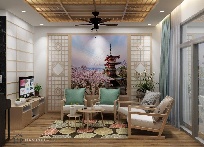 Mẫu thiết kế nội thất phong cách nhật bản