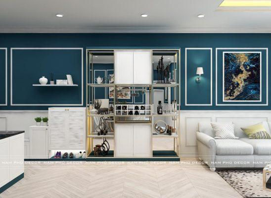 thiết kế nội thất căn hộ Pahm Heights