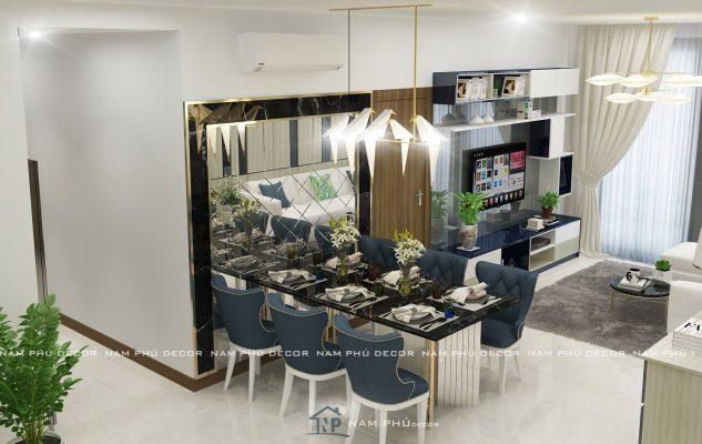 thiết kế nội thất căn hộ hà đô centrosa