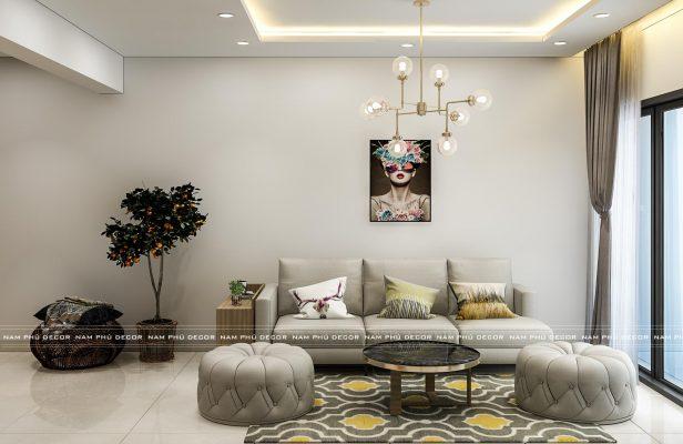 thiết kế nội thất căn hộ eco xuân
