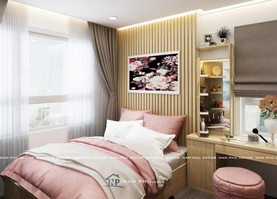 thiết kế nội thất chung cư richstar