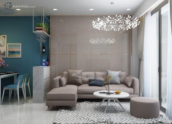 thiết kế nội thất chung cư Pahm Heights