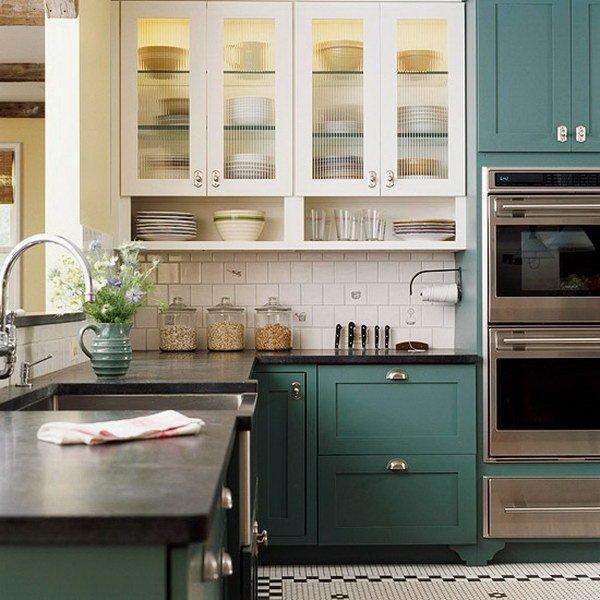 phòng bếp - phong cách tối giản