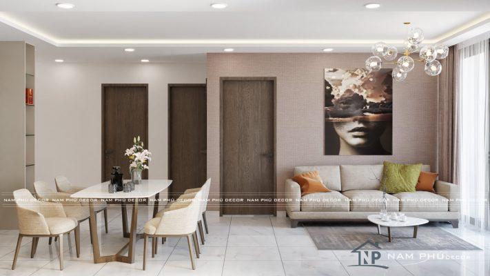 thiết kế nội thất chung cư vinhome quận 9